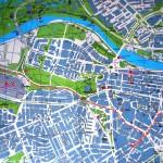 mapa El Volante AUTOESCUELAS